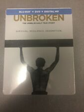 Unbroken (Blu-ray/DVD + Steelbook Edition- No Digital Copies)