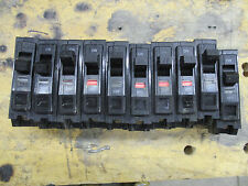*LOT OF 10* Square D QOB120, 20 Amp 120V Twisted Foot Circuit Breaker- WARRANTY
