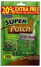 Chatsworth 2x200g Super Patch Grass Seed Gardening Thicken Lawns for 12 Patches