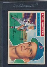 1956 Topps GB #034 Tom Brewers Red Sox VG/EX 56T34-41716-1