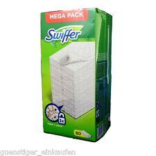 Swiffer Mega Pack 80 Anti Staub Tücher Bodentücher Reinigung Staubmagnet