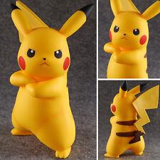 "Big pokemon go pikachu action figure toy 7.5""/19cm stand model-5"