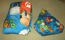Nintendo Super Mario Bros. Reversible Twin Comforter & Fitted Sheet