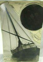 Circa 1920 News Photo St Helens Schooner Captain H.R. Bodge mb365