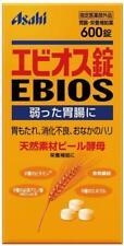 ☀ Asahi Ebios Naturel Matière Bière Levure Nutrition 600 Comprimés