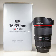 Canon 16-35mm f/4 L IS EF USM Wide Angle Zoom Lens Boxed