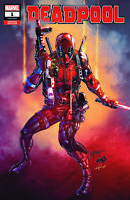 Deadpool #1 Marat Mychaels Cover Ltd. Ed.  Comic Book