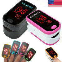 USA SPO2 PR Finger tip Pulse Oximeter Blood Oxygen Heart Rate Monitor Lanyard