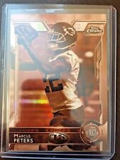 2015 TOPPS CHROME ROOKIE SEPIA REFRACTOR 66/99 MARCUS PETERS SP RC CHIEFS HOT