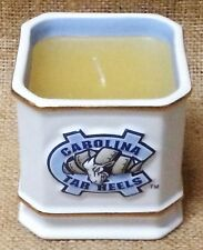 Licensed North Carolina Tar Heels UNC NCAA Ceramic Caddy with Candle