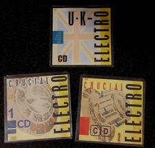 STREET SOUNDS CRUCIAL 1 & 2 & UK CDs HIP HOP