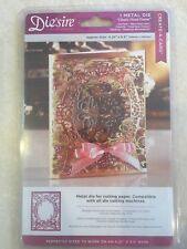 Die'sire 'Create-a-Card' Classic Floral Frame Metal Die by Crafter's Companion