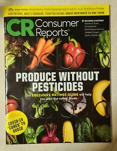 "October 2020 Consumer Reports ""Produce Without Pesticides"""