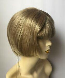 Estetica Wig, Bobcut, #R14/22R Dark Blonde w/ Light Ash Blonde Highlights
