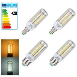 E27 E14 LED Birne Mais Licht Leuchtmittel Strahler Lampe 5730 SMD Warmweiß 230V
