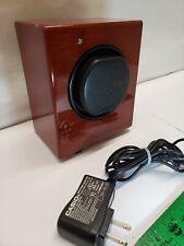 Glossy Oak Cabinet Digi Manual Orbita Automatic Programmable Single Watch Winder