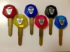 YAMAHA blank key YZF R1 R6 FZ6S FZ1 XJR. Yellow,Red,Black,Blue or Pink
