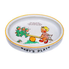 Vintage 1930s Mabel Lucie Attwell Boo Boo Baby Plate Shelley Pixie Bowl Nursery