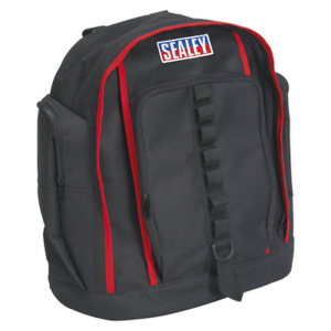 Tool Backpack 420mm   SEALEY AP516 by Sealey   New