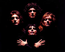 Queen '75 Band 8x10 Photo Freddie Mercury Brian May Roger Taylor John Deacon #2