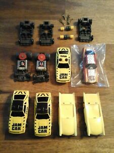 tyco tcr ideal junk yard parts most new unfinished.