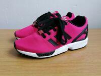 Adidas Originals Torsion ZX Flux UK Size 5 Pink & Black Excellent condition