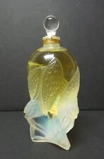 "LALIQUE 2002 LTD. ED. COLLECTIBLE CRYSTAL FALCON ""LES ELFES"" PERFUME BOTTLE"