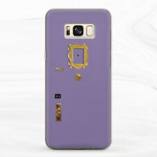 For Samsung S8 S9 S10 S20 Plus S10e Note 8 9 10 Door Frame Peephole Friends Case