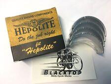 "Hepolite Triumph 650 -750 Big End Bearing Shells 0.040"" '58 - '80  OEM #70-3586"