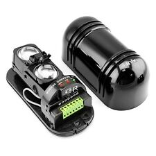 Alarm Dual Beam Photoelectric Infrared Detector 100M Home & Garden Security LS