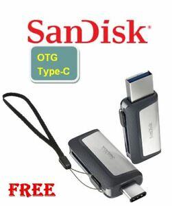SanDisk 256GB 128GB 64GB 32GB OTG USB3.1 TYPE-C Flash Pen Drive Memory Stick lot