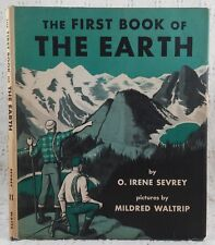 The FIRST BOOK of THE EARTH by O. Irene Sevrey (No. 81) WATTS 1958 HOMESCHOOL