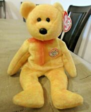 TY Beanie Baby Sunny the Bear DOB February 13, 2000 MWMT Free Shipping