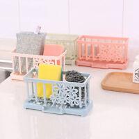 Kitchen Sink Caddy Sponge Holder Storage Organizer Soap Drainer Rack Strainer AU