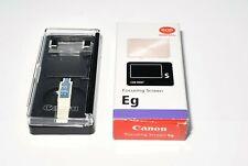Genuine Canon Eg-S Focusing Screen EgS from Japan