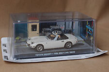 JAMES BOND 007 TOYOTA 2000 GT - YOU ONLY LIVE TWICE 1:43