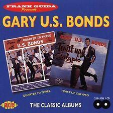 """Gary """"U.S."""" Bonds, G - Quarter to Three / Twist Up Calypso [New CD]"""
