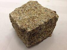 Yellow Gold Granite Setts/Cobbles- Natural Stone- 100mm x 100mm x 50mm