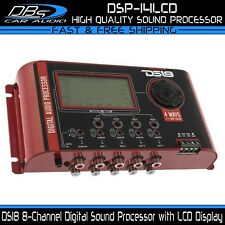 Ds18 Dsp-14Lcd Digital 4 Way Car Dsp Processor Crossover Parametric Equalizer