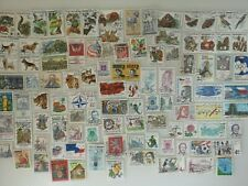 100 Different Czech Republic Stamp Collection