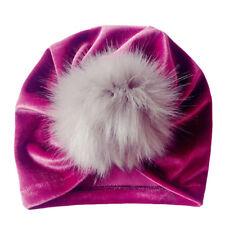 Winter Newborn Toddler Kids Baby Boy Girl Venonat Turban Beanie Hat Headdress