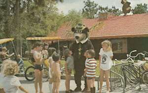 Jellystone Park Camp Resort YOGI BEAR Hanna Barbera Vintage Postcard