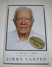 "Former President JIMMY CARTER ""A Full Life"" Signed Book  1st Edition Autographed"