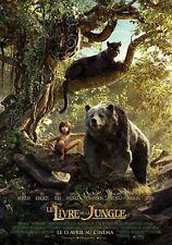 Affiche Pliée 40x60cm LE LIVRE DE LA JUNGLE 2016 Jon Favreau, Sethi Disney NEUVE