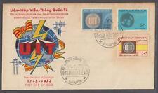 South Vietnam FDC International Telecommunication Union 17-5-1973