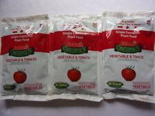 3 JOBE'S Organics Vegetable & Tomato Fertilizer SINGLE Container Plant Food 2 oz