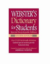 Websters Dictionary for Students, Special Encyclo