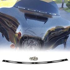 Black Fairing Windshield Trim For Harley Touring FLHT FLHX 1996-2013