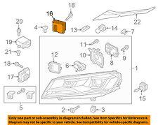 VW VOLKSWAGEN OEM 12-16 Eos Headlight Head Light Lamp-Module 8U0941329
