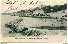 CPA - Carte postale -France -Marseille - La Corniche - Anse du prophète - 1904
